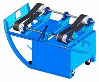 Morse 201 belted drum roller